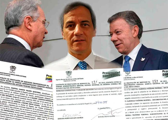 Los contratos del precandidato uribista Rafael Nieto con el gobierno Santos