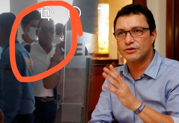 La extraña presencia del abogado de Álvaro Cotes en la audiencia de imputación del ex y el alcalde de Santa Marta