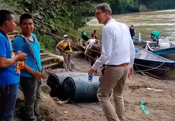 El embajador de Holanda en el corazón cocalero de Tumaco: Video