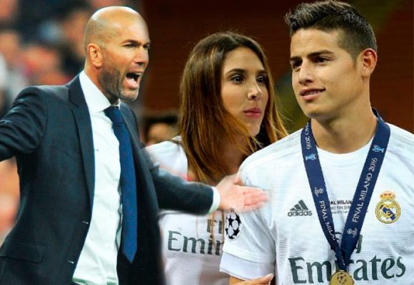 James le hace más falta a Zidane que a Daniela Ospina