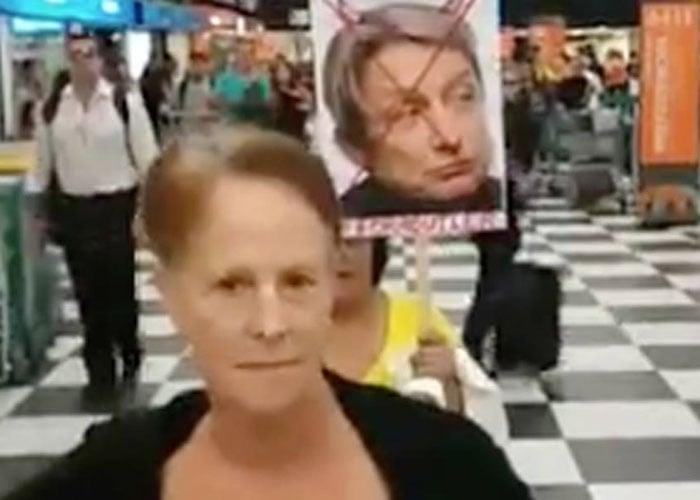 Judith Butler, filósofa y teórica feminista, agredida en Brasil
