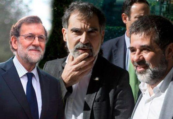 Los Jordis, grandes agitadores de la independencia de Cataluña, que terminaron en la cárcel