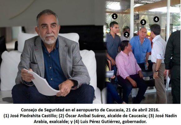 La cercanía de José Piedrahita, el capo de Caucasia, con el poder político de Antioquia