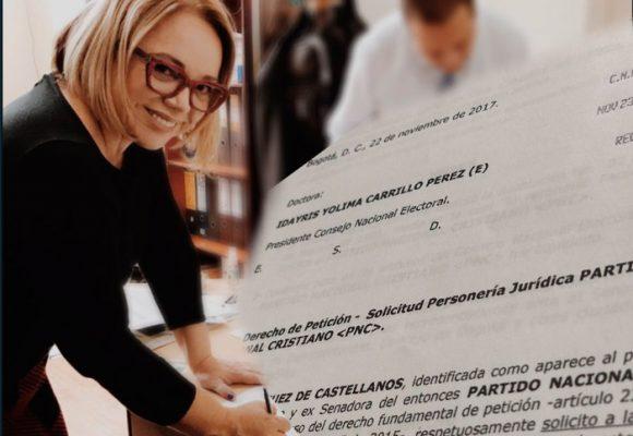 La pastora Claudia Rodríguez de Castellanos irá sola con su movimiento político a las próximas elecciones