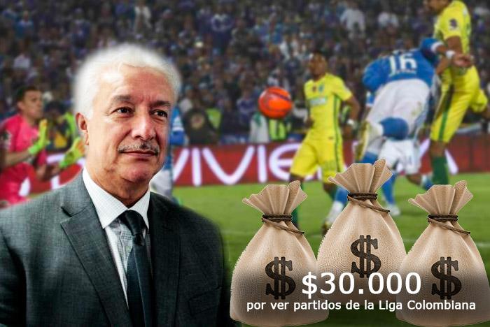 El presidente de la Dimayor, atrapado más por el poder que por el fútbol