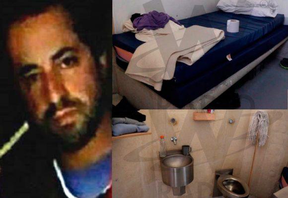 Fotos: Así es la celda de Rafael Uribe Noguera, el asesino de Yuliana Samboní