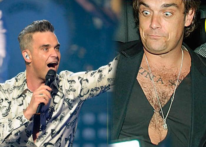 El coctel que está enloqueciendo a Robbie Williams: 20 Red Bull y 2 éxtasis diarios