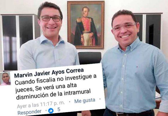 Juez que legalizó captura del ex y actual alcalde de Santa Marta se había destapado en Facebook