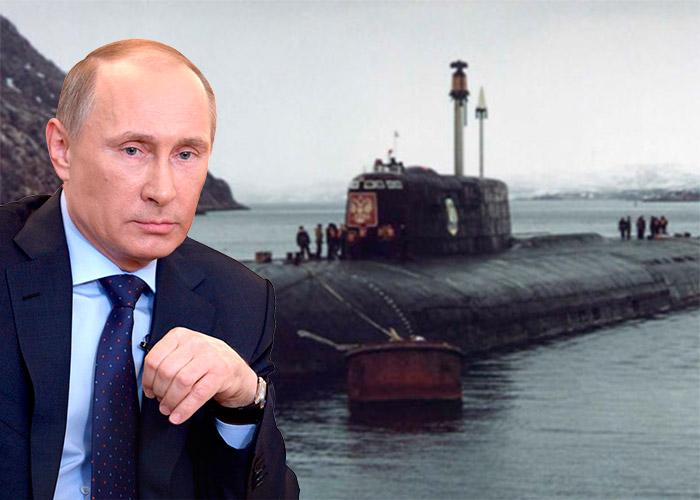 Los 112 tripulantes que dejó morir Putin para cuidar los secretos de su submarino más poderoso