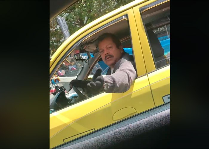 """VIDEO: """"Haga lo que se le de la gana perra hijuep…"""", taxista agrede a mujer en Bogotá"""