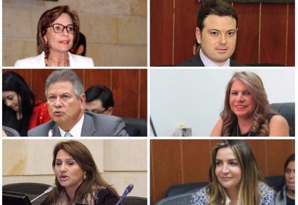 El complicado pasado de los 12 Senadores que no quisieron votar la JEP