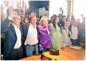 'Lista por la decencia': Gustavo Petro, Clara López y Carlos Caicedo se unen para llegar al congreso