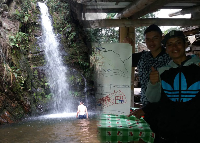 Bandidos de La Perseverancia ahora cuidan los senderos y cascadas de los Cerros Orientales