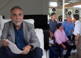 Una foto reveladora de la cercanía del gobernador Luis Pérez con el Capo José Piedrahita
