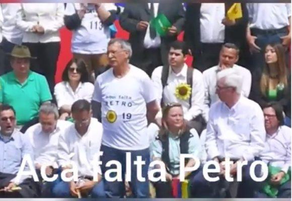 El asco de Robledo en el lanzamiento del programa de Coalición Colombia