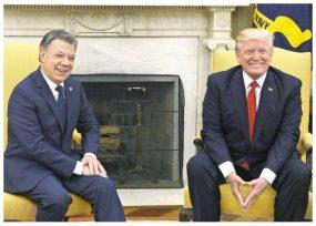 Santos cedió al chantaje de Trump en la ONU, quien salió derrotado