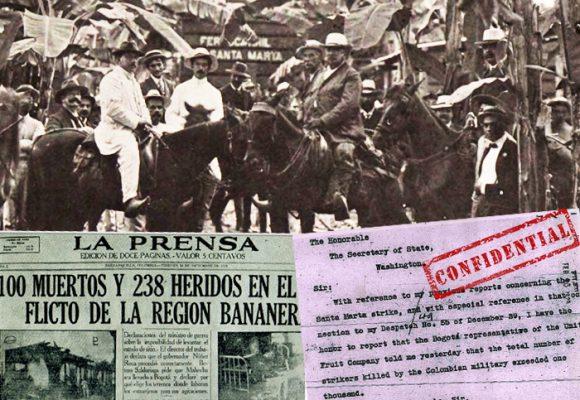 """Informe de la CIA sobre la Masacre de las bananeras: """"más de 1000 huelguistas asesinados"""""""