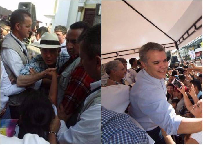 Uribe en la calle: ¿cómo hace campaña el expresidente colombiano?