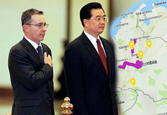 La locomotora china detrás del petróleo colombiano