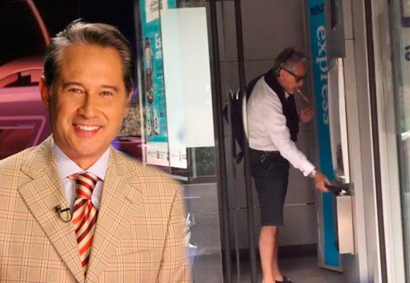 VIDEO: La grosería del periodista Manuel Teodoro en un cajero en Bogotá