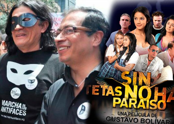"""El creador de """"Sin tetas no hay paraíso"""" va con Petro al Senado a perseguir corruptos"""