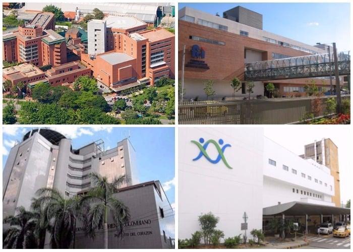 Cuatro hospitales colombianos entre los 10 mejores de Latinoamérica