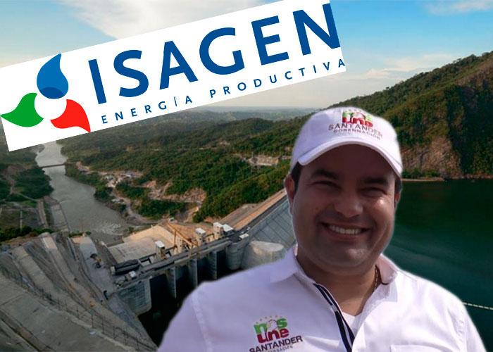 La plata de la venta de Isagen que llegó a Santander. ¿Qué van a hacer?