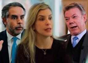 Contragolpe de Santos a Armando Benedetti: adiós a su hermana Ángela de la Embajada en Panamá