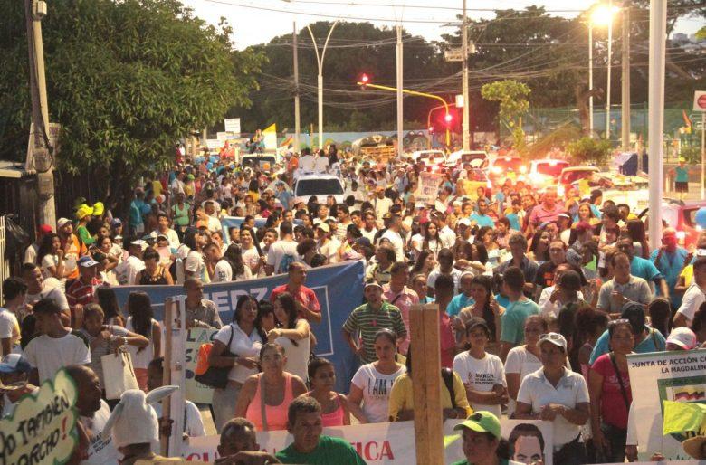 Los ciudadanos le plantaron cara a la corrupción y defendieron a Caicedo y Martínez