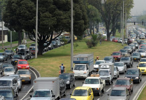 Conducir hoy en Bogotá es un acto de valentía, riesgo, vértigo, peligro y pánico
