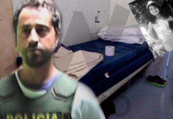 Sin sol, sin dormir y en 15 metros, Rafael Uribe Noguera pasa el primer año de los 58 años de condena