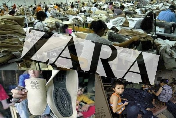Si usted compra en Zara es cómplice de la esclavitud laboral