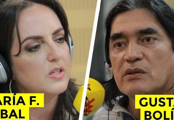 La ridícula pelea entre María Fernanda Cabal y Gustavo Bolívar