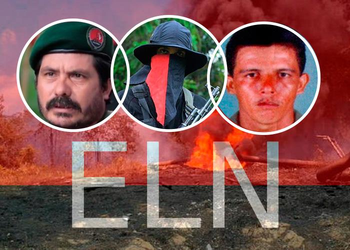 Los 3 comandantes que se le salieron de las manos al ELN