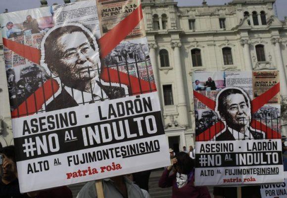 Caso Fujimori, el perdón para quien lo quiera