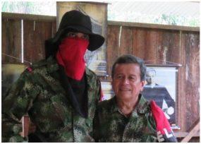 El mediático comandante del ELN no lo calla la ofensiva del gobierno. VIDEO
