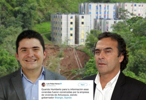 Cuando el exministro Luis F. Henao sacaba pecho por las casas de Villa Javier