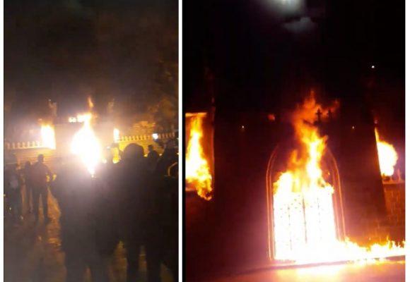 Video: Las llamas que consumieron el santuario Las Lajas, en Ipiales
