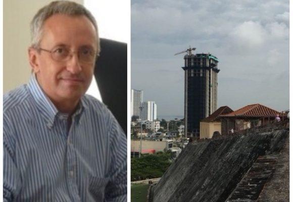 El argentino que advirtió que Cartagena podría dejar de ser patrimonio de la humanidad