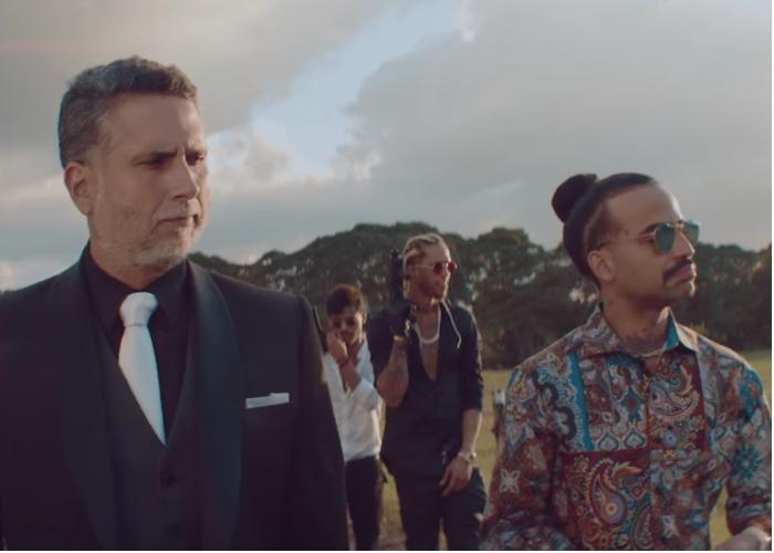 Marlon Moreno intenta volver a actuar... otra vez como El Capo en videoclip de reguetón