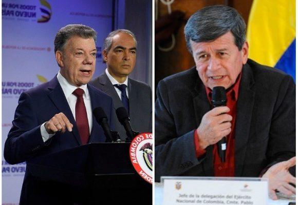 Tambalean la paz con el ELN: Santos ordena a los negociadores volver a Colombia