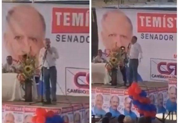 Las groserías e insultos del exgobernador del Cauca que espantaron a sus seguidores. VIDEO