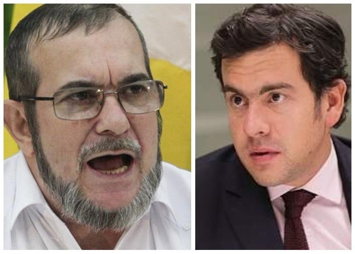 Virulento ataque de Timochenko al representante Rodrigo Lara