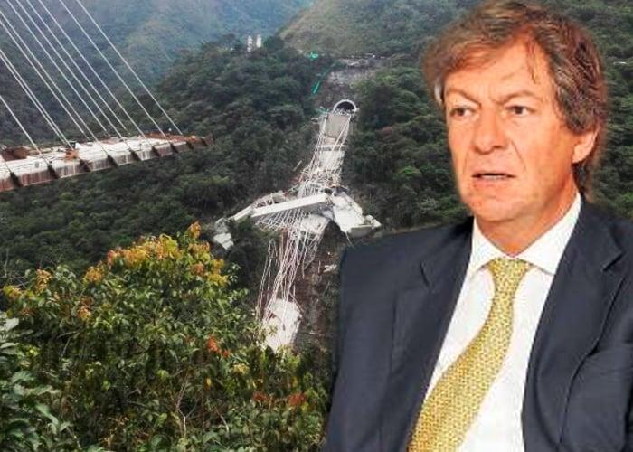 ¿Quién construyó el megapuente que se desplomó en la vía Bogotá - Villavicencio?