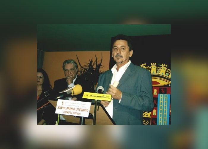 Antonio Carballo, ganador del Concurso de Cuento Ciudad de Pupiales