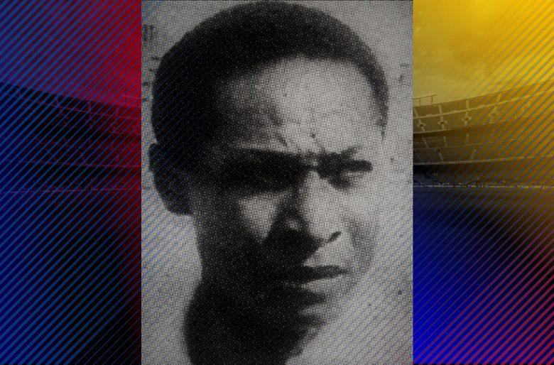 Lauro Mosquera, el primer colombiano que jugó en el Barcelona