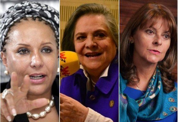 Tres destacadas mujeres buscan la presidencia de Colombia