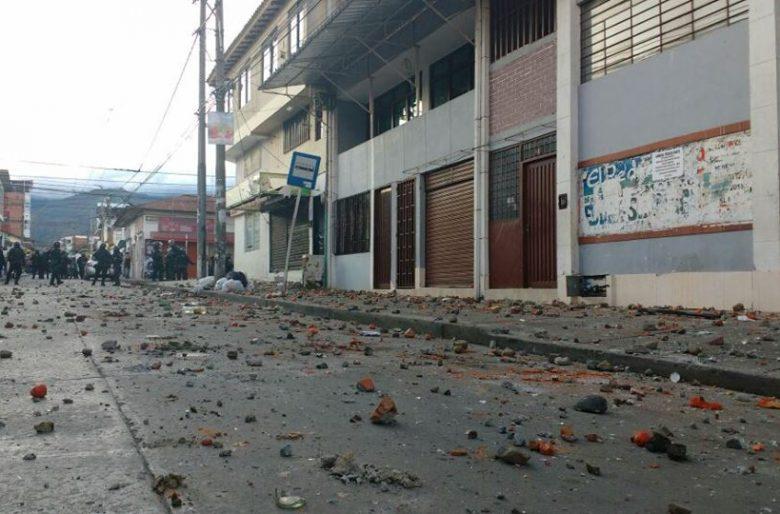 Violento ataque a la sede de Sutimac en Yumbo