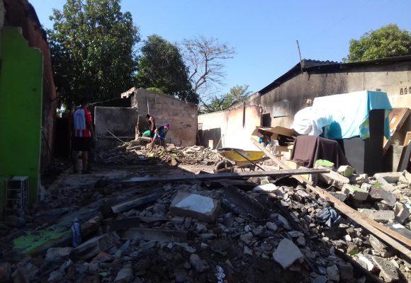 La tercera edad sin refugio en Pumarejo (Atlántico)