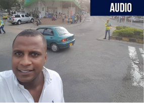 Ray Charrupi, el líder afro, evita atraco al candidato verde Michael Maya